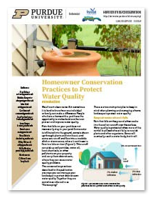 Homeowner Conservation Practices to Protect Water Quality
