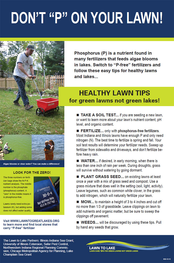 """Don't """"P"""" On Your Lawn! Poster"""